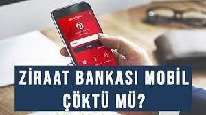 Ziraat Bankası mobil bankacılık giremiyorum! Ziraat mobil çöktü mü ne oldu?
