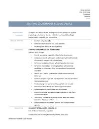 ... Staffing Coordinator Resume 10 3 Page 001 ...