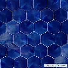 blue hex tile navy marble hexagon floor