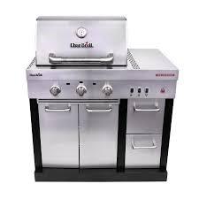 char broil modular outdoor kitchen 3 burner tru infrared modular gas grill