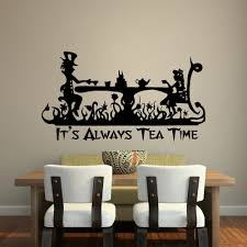 alice in wonderland wall decals
