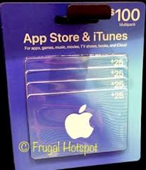 itunes gift cards 100 multi pack at costco