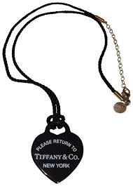 large black heart bone pendant necklace choker image 0