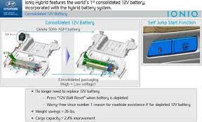 2018 kia niro plug in hybrid. unique hybrid hyundai ioniq consolidated 12 v battery with 2018 kia niro plug in hybrid