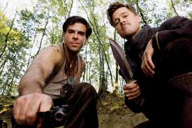 inglorious bastards imdb things you probably didn t know about  inglourious basterds inglourious basterds wiki fandom powered inglourious basterds behind the scenes eli roth a gun