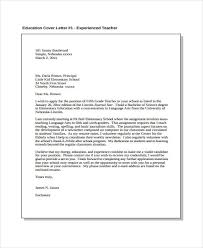 Education Cover Letters Job Cover Letter 10 Free Word Pdf Format Download Free