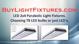 Parabolic Led Lights Led Parabolic Light Fixtures The Choice Between Led Tubes Or Just Led Lighting