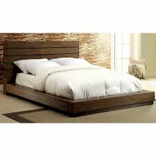 Check out Furniture of America Jent's Rustic Low-Profile Cal. King Bed - ShopYourWay
