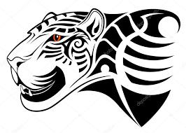 Levhart Tribal Tetování Stock Vektor Flanker D 19904385