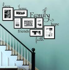 family picture wall ideas best family wall es ideas on word wall decor throughout faith family family picture wall ideas