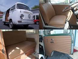 volkswagon bus new seat door panel upholstery