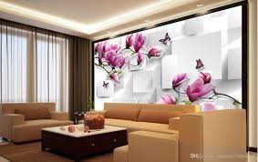 Wallpaper Decorating Living Room Customized Wallpaper For Walls Home Decor Living Room Natural Art
