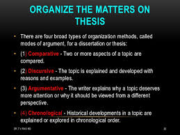 planning a thesis by medical students 35
