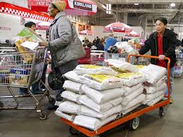 costco same store s miss as price wars heat up cost mediavor shoppers push carts in costco in fairfax virginia 7 2010 costco whole corp on thursday reported a better than expected nine percent rise in