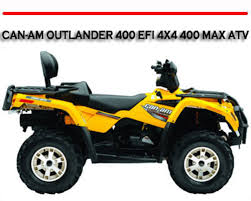 can am can am outlander 400 efi 4x4 400 max atv manual m pay for can am can am outlander 400 efi 4x4 400 max atv manual