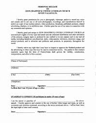 Release Of Liability Form Template | Emmawatsonportugal.com