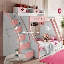 kids bunk bed for girls. 15 Inspiring Bunk Bed With Stairs In Kids Room Kids Bunk Bed For Girls B
