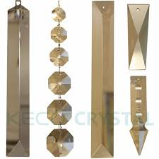 brass bow tie hooks for crystal chandelier parts and octagon crystal bead keco crystal provide