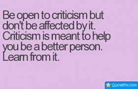 40 Best Criticism Quotes Sayings Unique Criticism Quotes