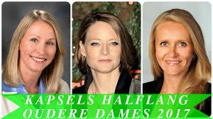 Kapsels Halflang Oudere Dames 2017