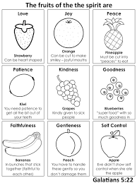 Small Picture Ideas of Fruit Of The Spirit Coloring Pages Download Also Format