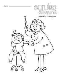 Male Nurse Coloring Pages With Rare Page Best Of Collection