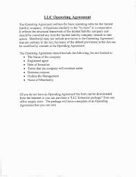 template for llc operating agreement 16 unique llc operating agreement template free worddocx