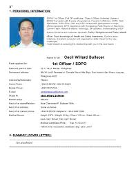 resume example for deck cadet resume ixiplay free resume samples