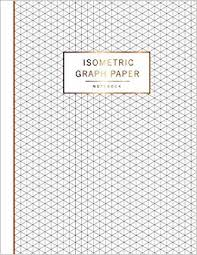 Buy Isometric Graph Paper Notebook 1 4 Inch Equilateral