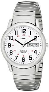 timex mens watch t20461 white dial and expander timex timex mens watch t20461 white dial and expander timex amazon co uk watches