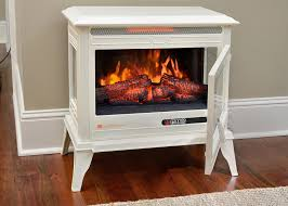 3 comfort smart jackson cream infrared electric fireplace stove with remote control 3