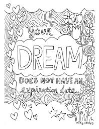 Small Picture FREE Coloring Book Pages for Grown Ups Inspiring Quotes