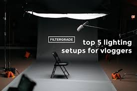 How To Set Up Lighting For Video Shoot Top 5 Lighting Setups For Vloggers Filtergrade
