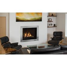 beautiful fireplace doors brushed nickel with valor ventana series gas fireplaces fireplaces fireplaces