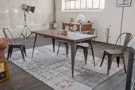 Kawola Esszimmertisch Kelio Tisch 160x80cm Holzmetall