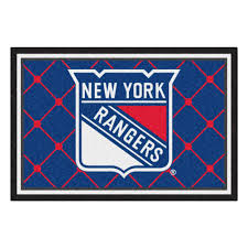 fanmats new york rangers 5 ft x 8 ft area rug