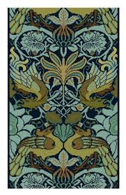 William Morris Peacock En Dragon Behang Aanpassing Cross Stitch Pdf