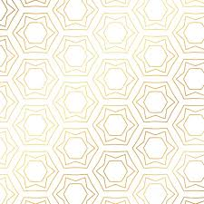 Gold Pattern Magnificent Gold Pattern With Hexagons Vector Free Download