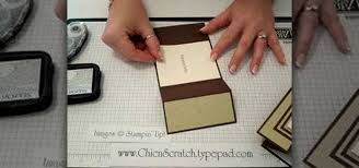 fold card how to make a tri fold card out of paper papercraft wonderhowto