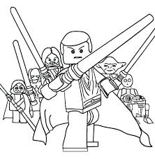 Lego Star Wars Clone Trooper Coloring Pages Page Printable Free