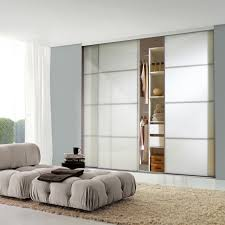 white mirrored sliding wardrobe doors white frame white mirror white 4 panel sliding wardrobe door