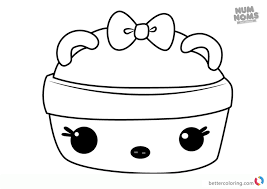 Num Noms Coloring Pages To Print
