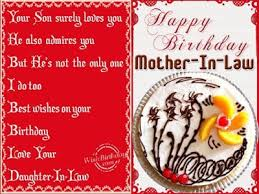 46 Happy Birthday Message For Mother In Law From Daughter With Images
