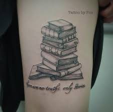 amazing book tattoos for literary