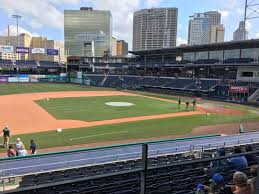 Dunkin Donuts Park Section 116 Row S Seat 6 Hartford