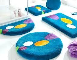 decorative bathroom rug sets plush home ideas mat bath 3 piece canada