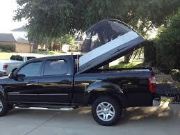 Truck tent on a tonneau Truck Camping Pinterest from car camping ...