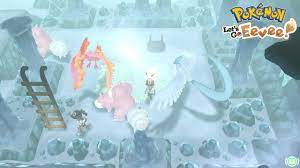 Pokemon Lets Go Eevee 2 Player Playthrough ( Seafoam Islands )! - YouTube