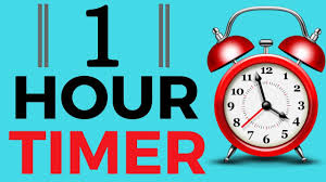 Timer 1 Mins 1 Hour Timer With Alarm 60 Minutes Youtube