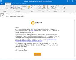 As bitcoin prices are increasing every moment, investing as much as one can is the simplest way of earning with bitcoin. Banks In Peru Hit By Phishing Attack Using Bitcoin Advertisements As Lure Security News